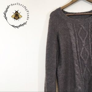 ✨ 3 for $30 Brown Cable Knit Sweater